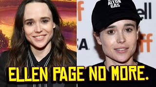 Ellen Page is Now ELLIOT Page.