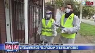 DOCTORA ARGENTINA, DENUNCIA QUE POR ORDENES SUPERIORES, TODA MUERTE SE LE DEBE ATRIBUIR AL COVID.