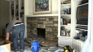 Fireplace Reface February 11, 2011