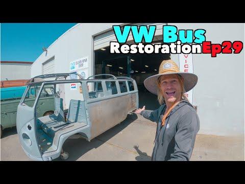 VW Bus Restoration - Episode 29 - I'm Baaaack! | MicBergsma