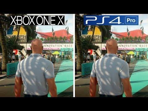 Hitman 2 Xbox One X Vs Ps4 Pro Graphics Comparison Youtube