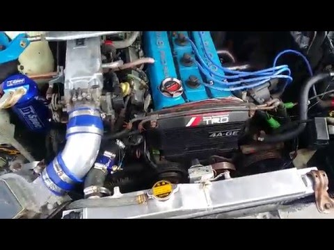 4AGE Rev Toyota AE86 GTS Corolla Bluetop Big Port