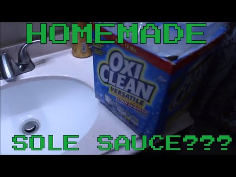 MAKING SOLE SAUCE? SNEAKER EXPERIMENT!