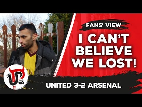 I can't believe Arsenal lost says Moh from ArsenalFanTV | Man United 3-2 Arsenal
