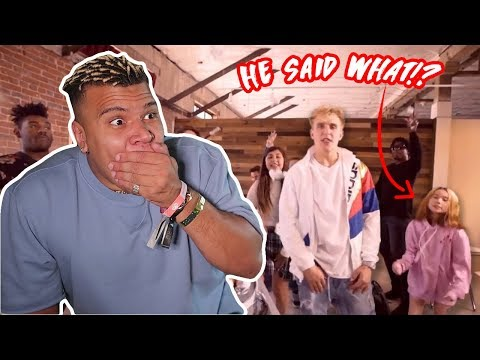 REACTING TO JAKE PAUL'S NEW SONG!! (DISS)