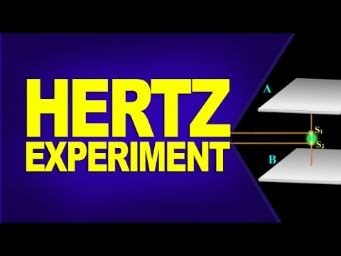 Hertz Experiment - Confirmation of Electromagnetic Waves