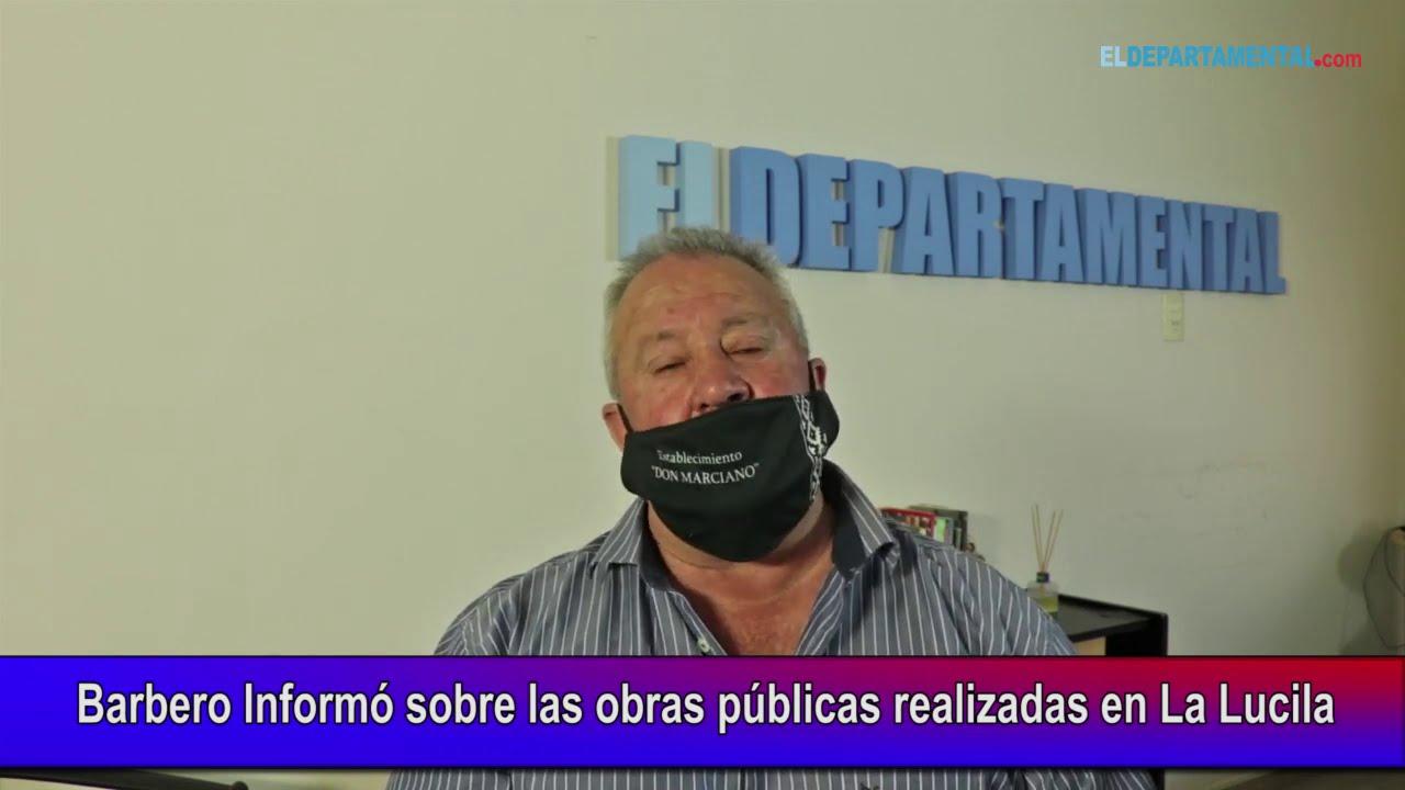 Barbero Informó sobre las obras públicas realizadas en La Lucila