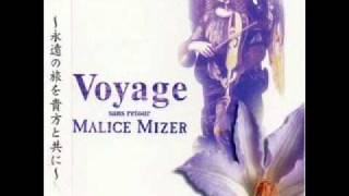 Zencho - Malice Mizer from their album Voyage ~Sans Retour~