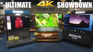 The Ultimate 4K TV Showdown Samsung vs LG vs Sony