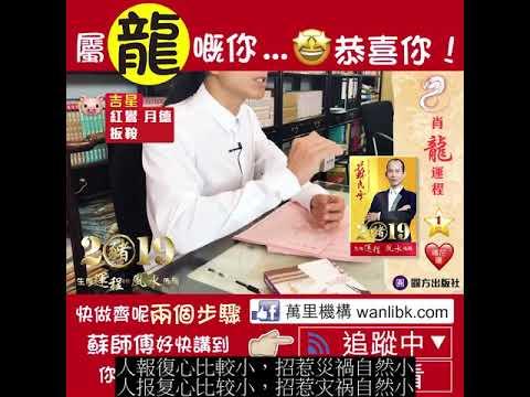 蘇民峰 & 麥玲玲 2019年運勢及運程