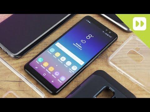 2fe284de827 Top 5 Samsung Galaxy A8 2018 Cases & Covers - YouTube