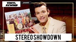Sgt. Pepper's Stereo Showdown   vinyl pressing comparison