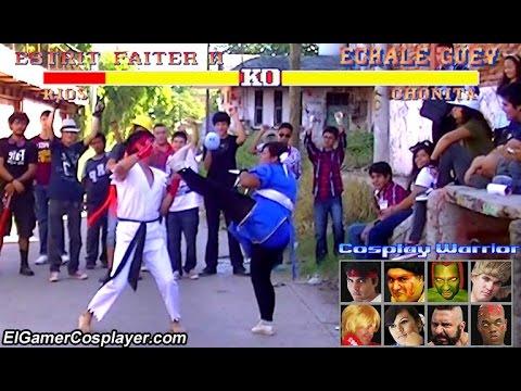 Street Fighter II - Cosplay Warrior