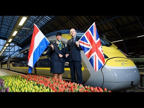 Launch of Eurostar's London to Amsterdam Service - Unravel T