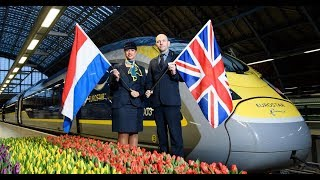 Launch of Eurostar's London to Amsterdam Service - Unravel Travel TV