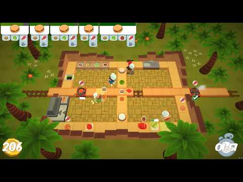 Overcooked! The Lost Morsel 1-2 World Record [4 player] [15.03.21] [410] |