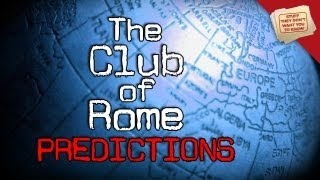 The Club of Rome: Predictions