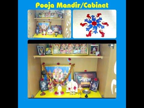 Pooja Mandir/Cabinet Organization in Tamil