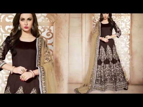 image of Anarkali suits youtube video 2
