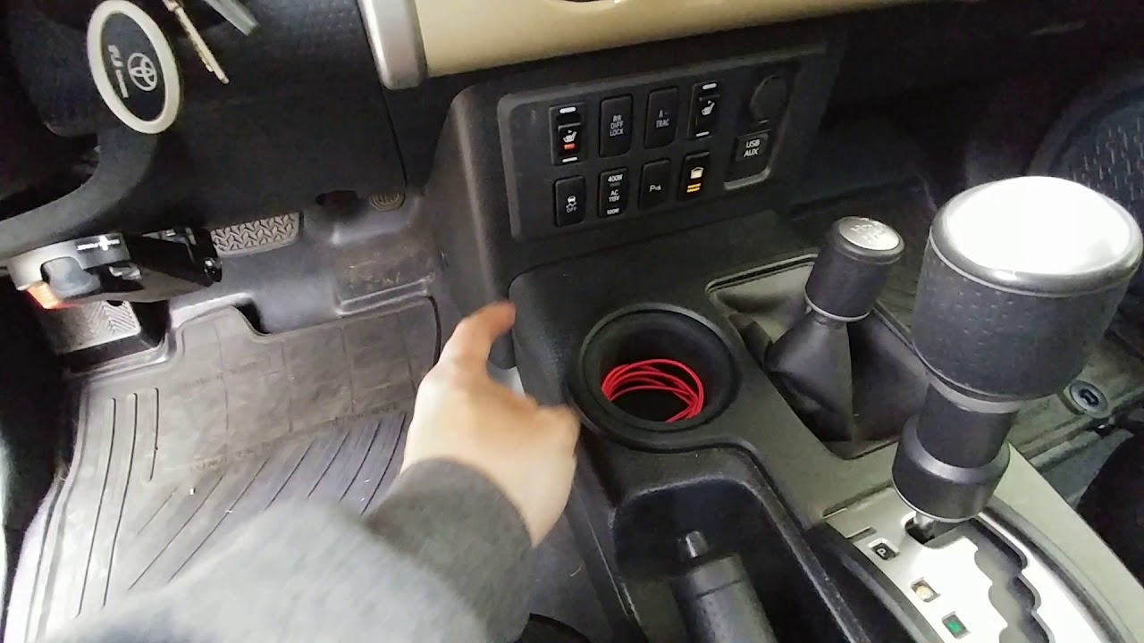 Toyota Fj Cruiser Heated Seat Installation Overview