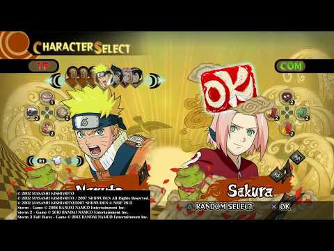 Naruto: Ultimate Ninja Storm - Sakura on Training