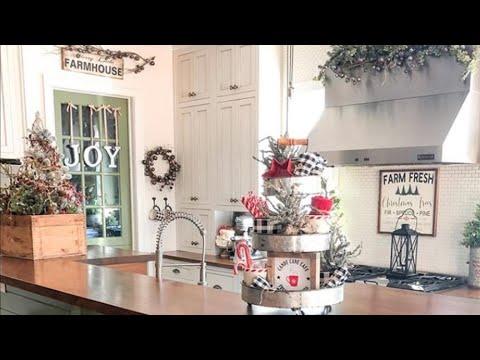 Authentic Farmhouse Christmas Home Tour 2019 | Christmas Home Decor Tour Inspiration