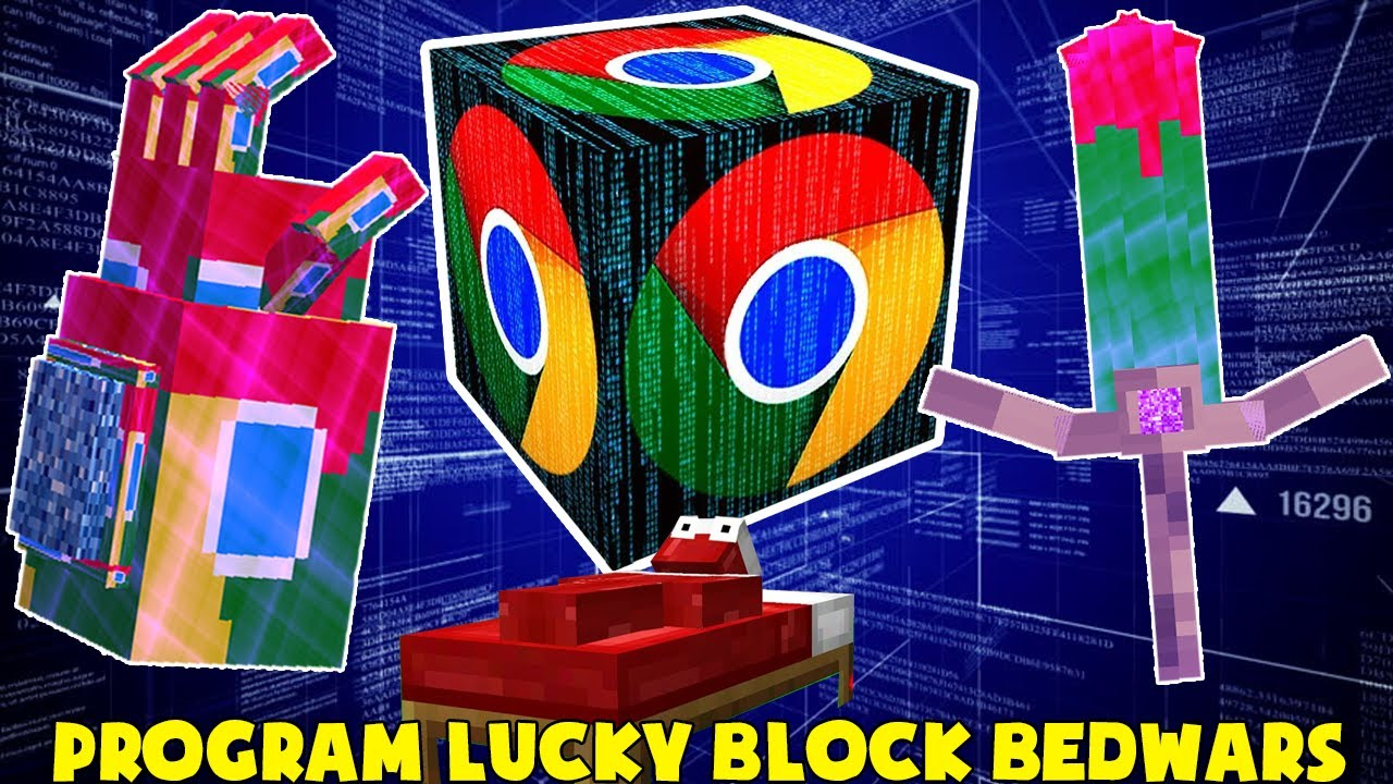 MINI GAME : PROGRAM LUCKY BLOCK BEDWARS ** ĐỒ VIP COI THƯỜNG KIẾM VIP VÀ CÁI KẾT ??