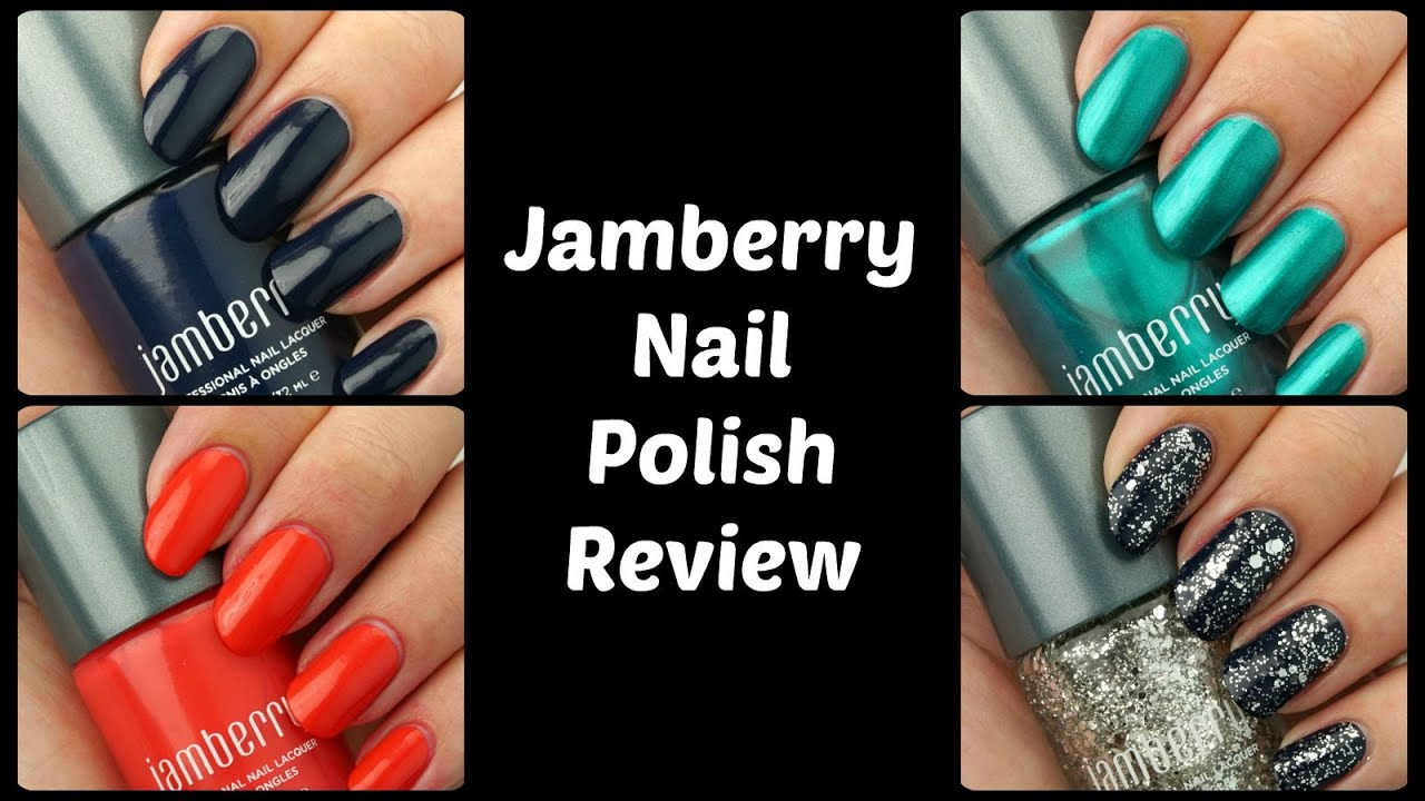 Jamberry Nail Polish Review - YouTube
