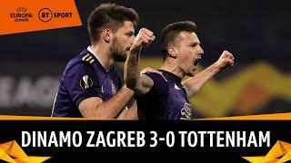 Dinamo Zagreb vs Tottenham (3-0) | Spurs Stunned By Oršić Hat-Trick | Europa League Highlights