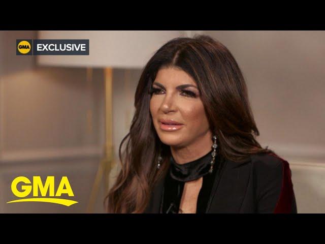 Teresa Giudice opens up about reuniting with Joe Giudice l GMA