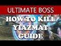 Final Fantasy XII The Zodiac Age HOW TO KILL YIAZMAT - OPTIONAL SUPERBOSS (Walkthrough Guide)