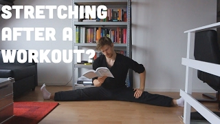 Stretching After A Workout: Yes or NO?