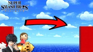 Super Smash Bros. Ultimate - Who Can Go Over the Longest Pit?