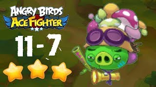 Angry Birds Ace Fighter - East Beach 11-7 BOSS [NORMAL + HARD]