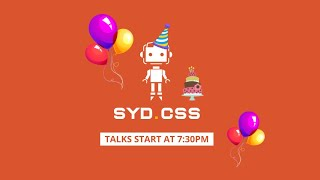 SydCSS 7th Birthday with Ethan Marcotte