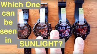 ZEBLAZE THOR PRO: First Android Smartwatch Viewable in Full Sunlight (Transflective IPS Screen)