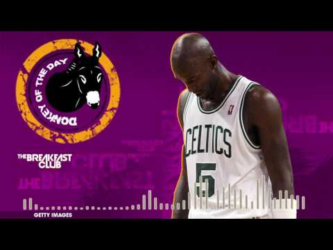 Thumbnail: Kevin Garnett Falls Flat On Grammar During His Web Show - Donkey of the Day