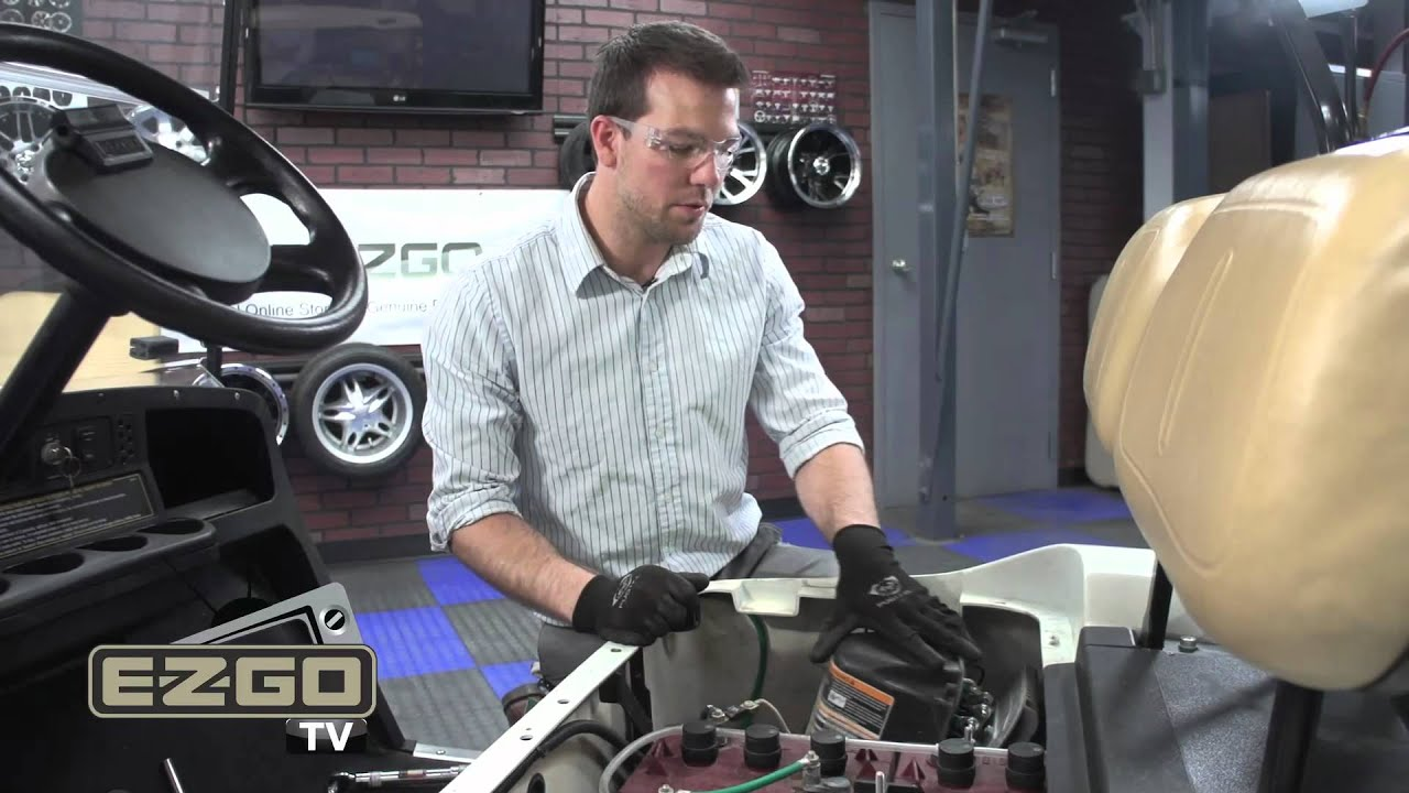 Ezgo Personality Plug Installation How To Install Golf Cart Pds 36 Volt Wiring Diagram Youtube