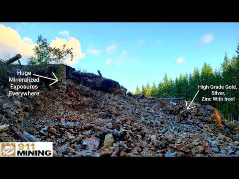 Finding A Massive High Grade Mineral Deposit!