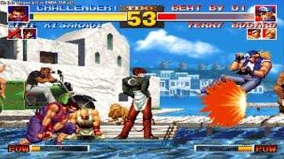 Kof 95 tito (luis villegas) (peru) vs SIMBA_SNK (peru) Fightcade th...