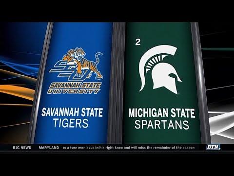 Savannah State at Michigan State - Men