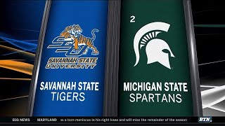 Savannah State at Michigan State - Men's Basketball Highlights