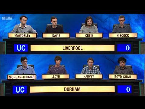 University Challenge S44E34 Liverpool vs Durham