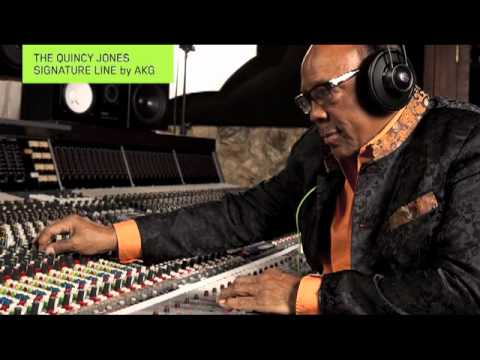 The new Quincy Jones Signature Headphones only from AKG