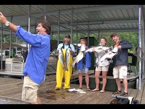 Sasser's Guide Service - Fishing For Striper