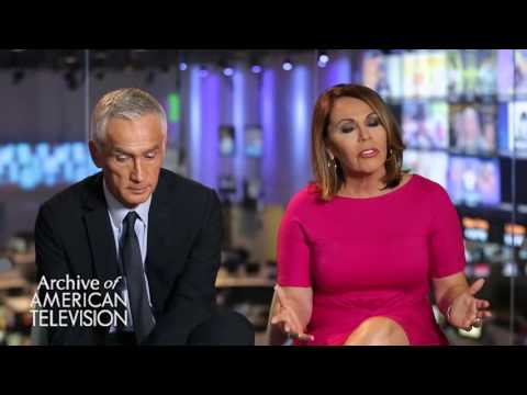 Jorge Ramos and Maria Elena Salinas discuss topics that are important to them - EMMYTVLEGENDS.ORG