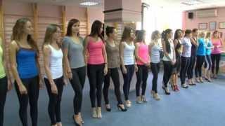 """видео: Проект """"Мисс Бикини""""-2:как держаться на сцене"""