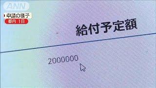 """最大200万円""""コロナ支給""""始まる 中小企業などへ(20/05/08)"""