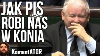 Jak PIS Robi w Konia Polaków - Kwota Wolna od Podatku OC Akcyza 2017 i inne - Komentator #485