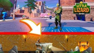 SECRET TUNNELS FOUND under Tilted Towers!